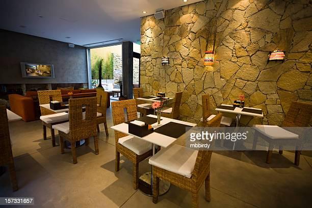 hotel di lusso di lobby, ristorante