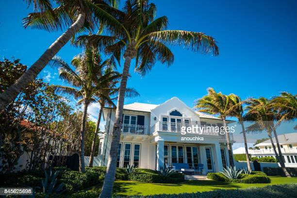 Luxury houses in Palm Beach, Florida, USA