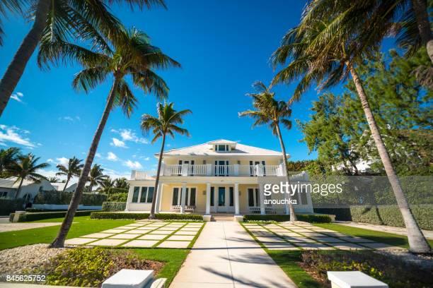 Luxus-Häuser in Palm Beach, Florida, USA