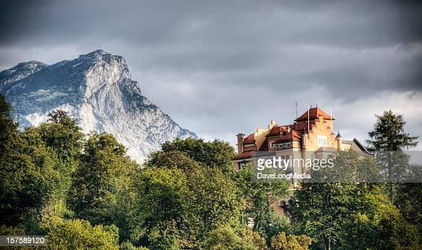Luxe dans les Alpes