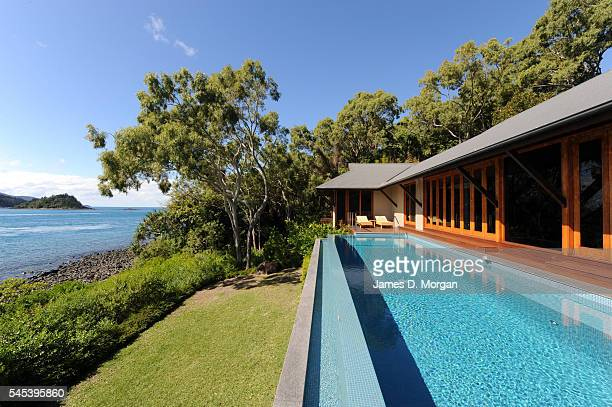 Luxury island hotel, Qualia on July 9, 2009 in Hamilton Island, Queensland, Australia. Qualia hosts some of the most exclusive guests from around the...