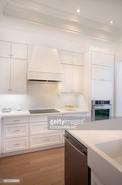 cozinha de luxo - cozinha doméstica - fotografias e filmes do acervo