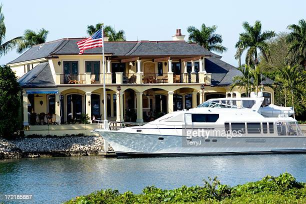 luxury living - naples florida stock pictures, royalty-free photos & images