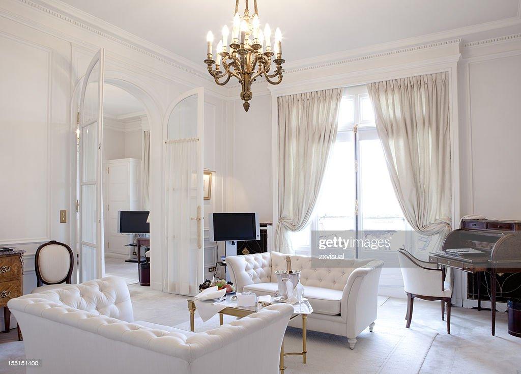 Luxury Living Room In Paris