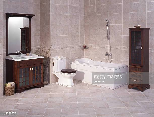 Lujoso baño principal