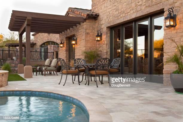 Luxury Patio Area