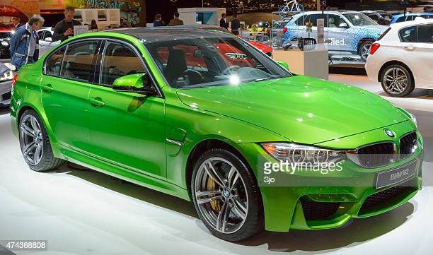 "bmw m3 luxury performance sedan - ""sjoerd van der wal"" or ""sjo"" stock pictures, royalty-free photos & images"