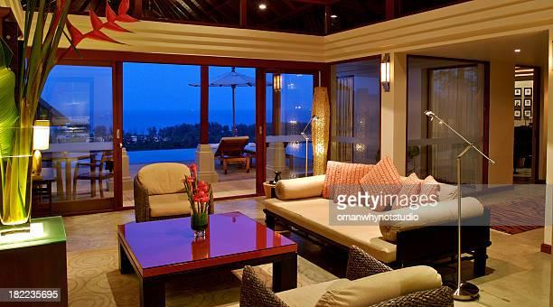 Luxury Pool Villa Suite with Seaview