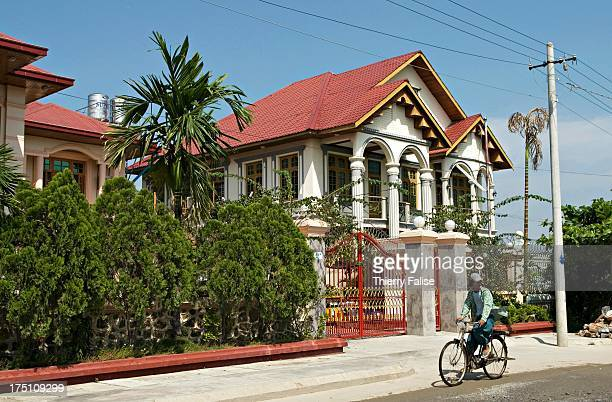 A luxury real estate inhabited by the rich Chinese community of Mandalay A house in this estate allegedly costs a minimum of 200000 US$