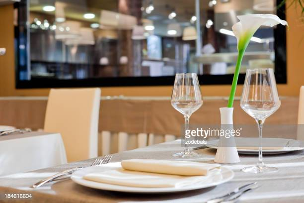 Luxury Restaurant Table