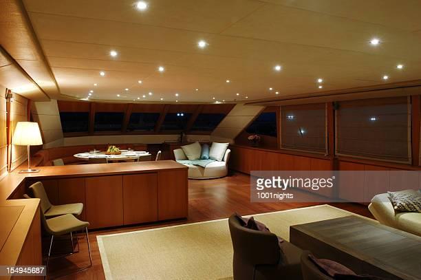 camera di lusso - yacht foto e immagini stock