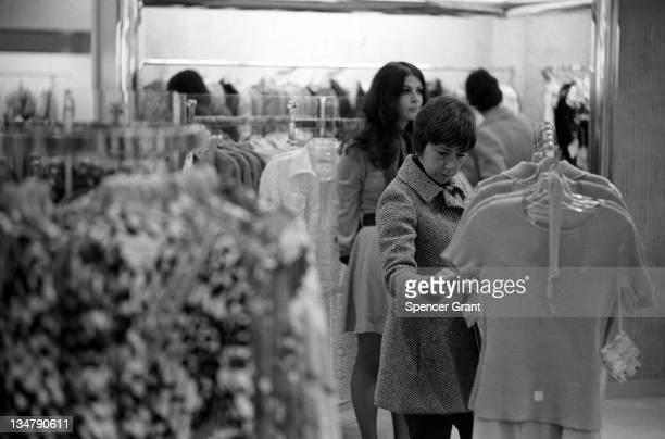 Luxury shopping at Chestnut Hill Mall Newton Massachusetts 1975