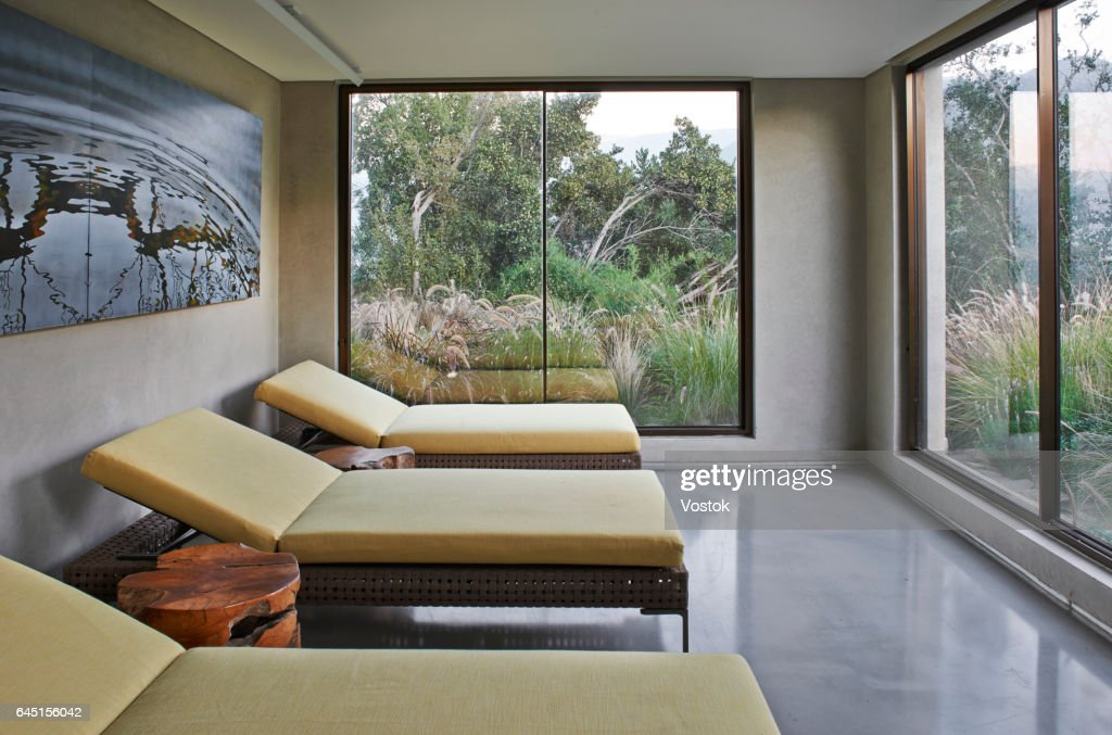 Luxury Spa Salon In Winery In Chile High Res Stock Photo Getty Images