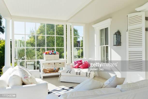 Luxury sun porch
