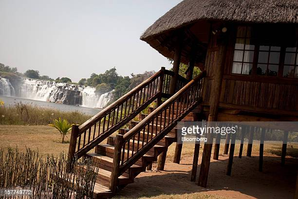 Luxury tourist villas launched by Israeli billionaire Dan Gertler on a notforprofit basis stand at the Kiubo Falls Lodge operated by Congo Star...