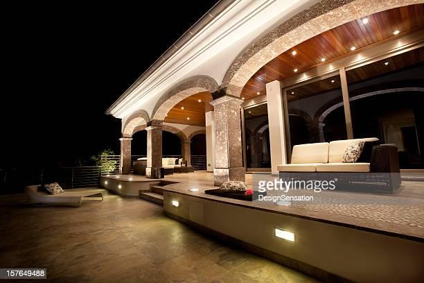 Luxury Villa at Night (XXXL)