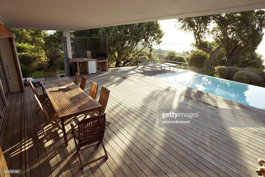 Luxury Villa Exterios : Stock Photo