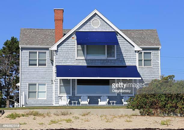 Luxury Waterfront Beach House, Ogunquit, Maine, New England, USA.