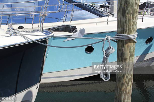 luxury yachts docked in marina - marie lafauci stock pictures, royalty-free photos & images