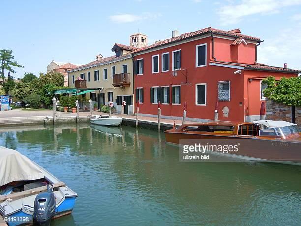 Luxusrestaurant Cipriani, aufgenommen am 16. Mai 2015 auf der kleinen Insel Torcello in der Lagune von Venedig