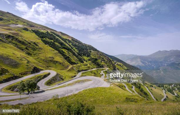 luz ardiden, france. - cycling event stock pictures, royalty-free photos & images