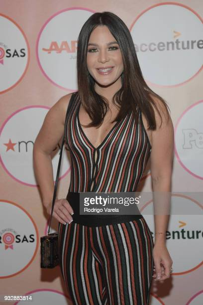 Luz Garcia arrives at the People en Espanol's 25 Most Powerful Women Luncheon 2018 on March 16 2018 in Miami Florida