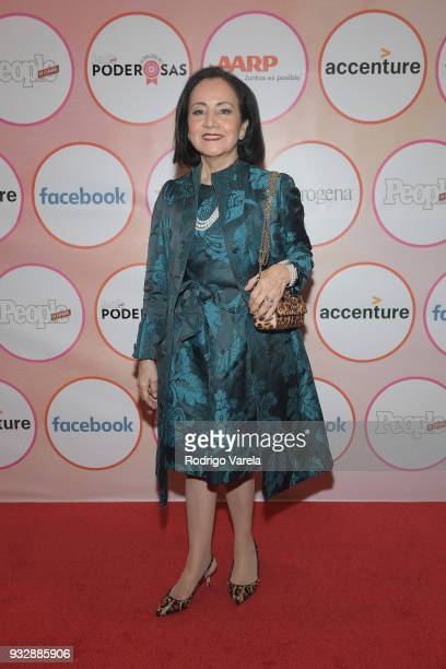 Luz Towns Miranda arrives at the People en Espanol's 25 Most Powerful Women Luncheon 2018 on March 16 2018 in Miami Florida