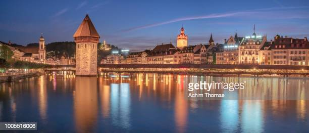luzern, switzerland, europe - historic district stock pictures, royalty-free photos & images
