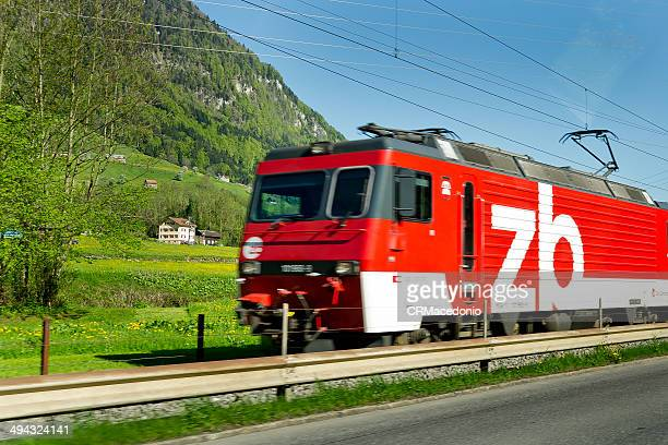 luzern-engelberg express - crmacedonio stock pictures, royalty-free photos & images