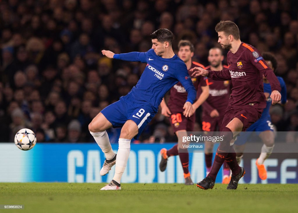 Chelsea FC v FC Barcelona - UEFA Champions League : News Photo