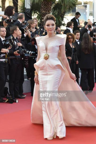 Ly Nha Ky attends the screening of'Capharnaum' during the 71st annual Cannes Film Festival at Palais des Festivals on May 17 2018 in Cannes France