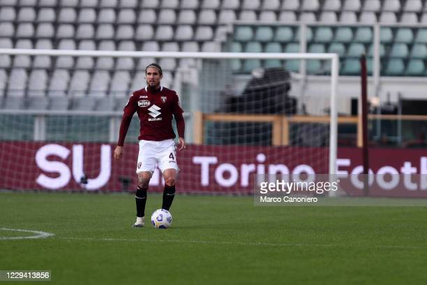 Lyanco Evangelista Silveira Neves of Torino FC in action during the Serie A match between Torino Fc and Ss Lazio. Ss Lazio wins 4-3 over Torino Fc.