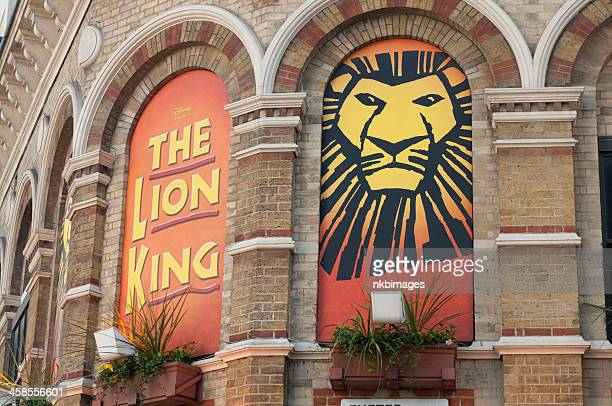 Lyceum theatre in London mit the Lion King-Size-Bett