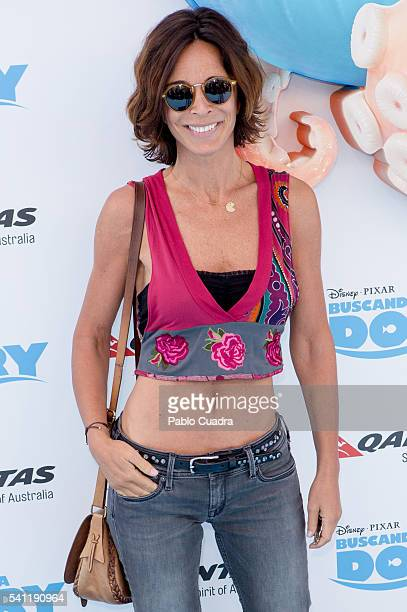 Lydia Bosch attends 'Buscando a Dori' premiere at Kinepolis Cinema on June 19 2016 in Madrid Spain