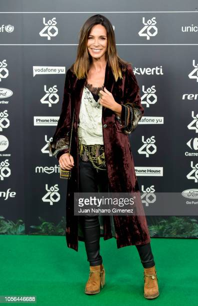 Lydia Bosch attends during 'LOS40 Music Awards' 2018 at WiZink Center on November 2 2018 in Madrid Spain