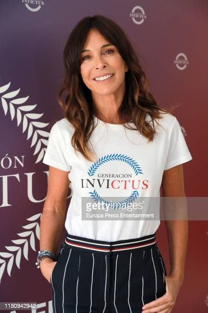 Lydia Bosch attends 'Generacion Invictus' at 25th Avenue Madrid on May 22 2019 in Madrid Spain