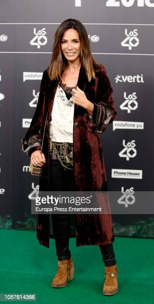 Lydia Bosch attends 'LOS40 Music Awards' 2018 at WiZink Center on November 2 2018 in Madrid Spain