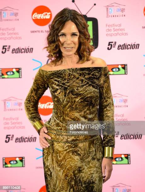 Lydia Bosch attends the 2017 MIM Series Awards at the ME Hotel on December 18 2017 in Madrid Spain