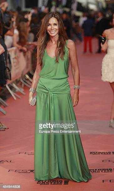 Lydia Bosch attends the 6th FesTVal Television Festival 2014 closing ceremony on September 6 2014 in VitoriaGasteiz Spain