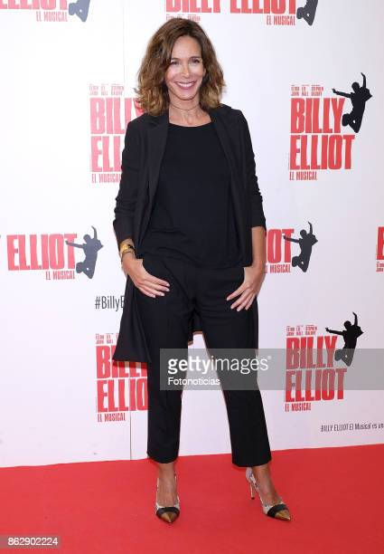 Lydia Bosch attends the 'Billy ElliotEl Musical' premiere at Nuevo Alcala Theater on October 18 2017 in Madrid Spain