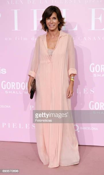 Lydia Bosch attends the 'Pieles' premiere pink carpet at Capitol cinema on June 7 2017 in Madrid Spain