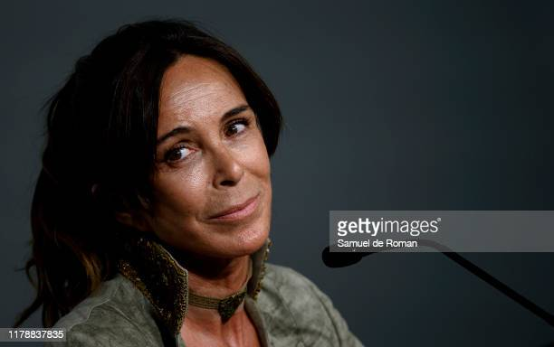 Lydia Bosch during a press conference at Sitges Film Festival on October 03 2019 in Sitges Spain