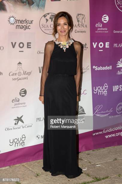Lydia Bosch poses during a photocall for the 'Apuesta Por Ellas' charity event on November 16 2017 in Sant Cugat del Valles Spain