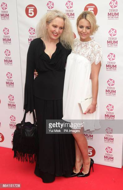 Lydia Bright and her mother Debbie arriving for the Tesco Mum of the Year Awards at The Savoy hotel in central London