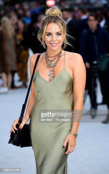 Lydia Bright arriving for the King of Thieves World Premiere held at Vue West End Leicester Square London