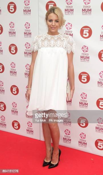 Lydia Bright arriving for the Tesco Mum of the Year Awards at The Savoy hotel in central London