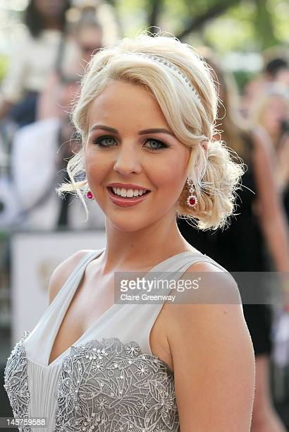 Lydia Bright attends The Arqiva British Academy Television Awards 2012 at The Royal Festival Hall on May 27 2012 in London England