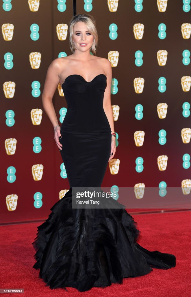 Lydia Bright attends the EE British Academy Film Awards (BAFTAs) held at the Royal Albert Hall on February 18, 2018 in London, England.