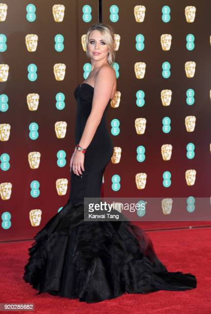 Lydia Bright attends the EE British Academy Film Awards held at the Royal Albert Hall on February 18 2018 in London England