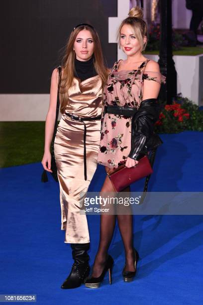 Lydia Bright attends the European Premiere of 'Mary Poppins Returns' at Royal Albert Hall on December 12 2018 in London England